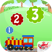 Numbers Train - Learn to count to 20
