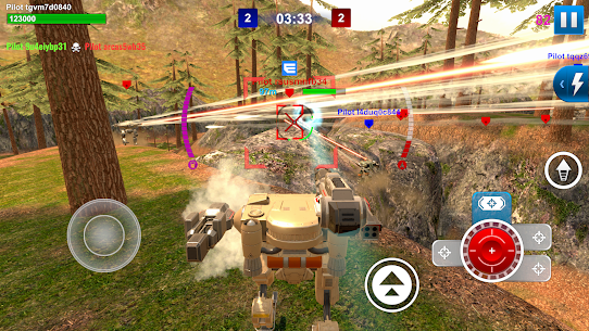 Mech Wars: Multiplayer Robots Battle Apk Download For Android and Iphone Mod Apk 7
