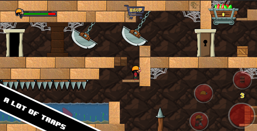 Dan the Dungeon Digger - Trap Adventure 1.1 screenshots 1