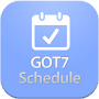 GOT7 Schedule APK icon