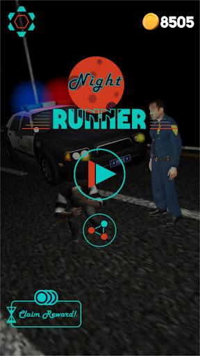 Code Triche Night Runner - Thriller Endless Runner  APK MOD (Astuce) screenshots 1