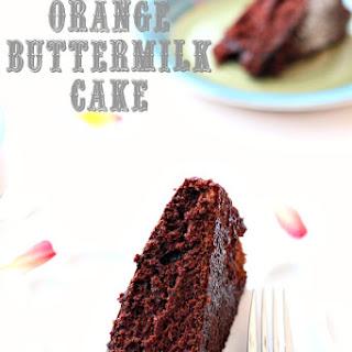 Chocolate Orange Buttermilk Cake