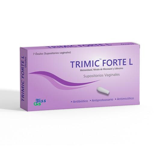 Metronidazol + Miconazol + Lidocaina Trimic Forte l