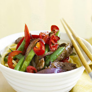 Spiced Garlic Beef Stir-Fry
