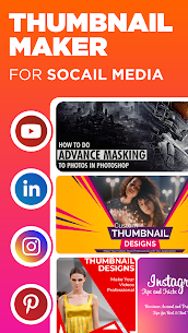 Thumbnail Maker – Design Covers For YT Channel Mod Apk Download For Android 3
