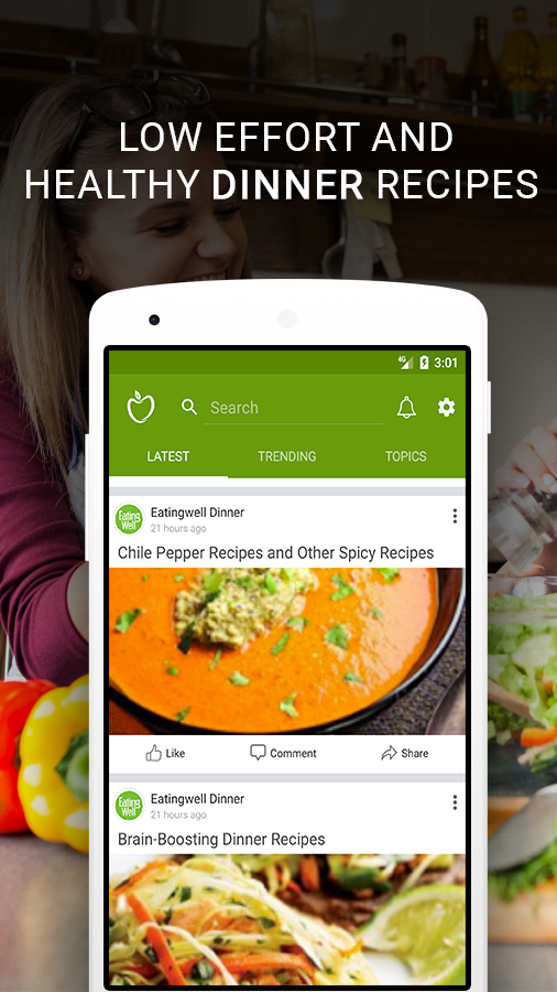 Healthy recipes healthy food cooking android apps on google play healthy recipes healthy food cooking screenshot forumfinder Gallery