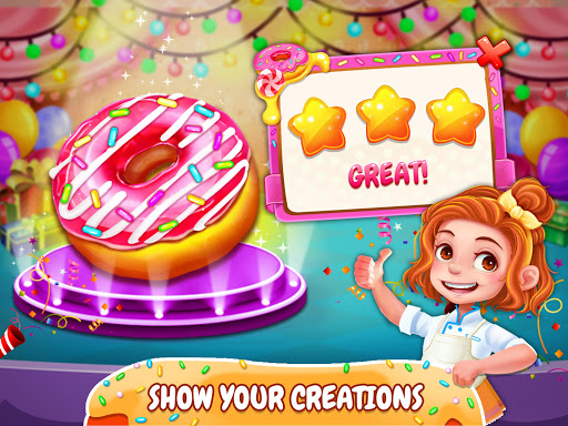 Crazy Donut Cooking Chef - Deep Fried Food Maker for PC