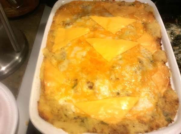 Loaded Oven Baked Potato Casserole