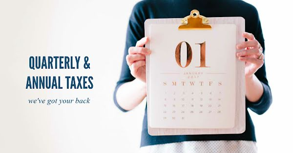 Quarterly & Annual Taxes - Facebook Event Cover Template