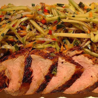 Ginger Grilled Pork Tenderloin