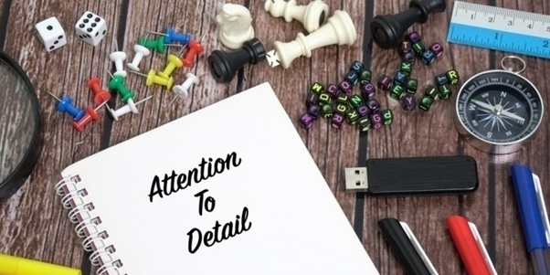 Attention to detail event planning