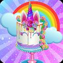 Unicorn Food Truck - Sweet Rainbow Cake Bakery icon