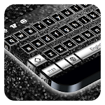 Black Silver Keyboard Icon