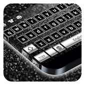 Black Silver Keyboard