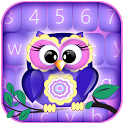Sweet Owls Keyboard Themes icon