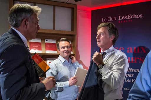 Club Les Echos Débats avec Sébastien Bazin, Président du groupe AccorHotels