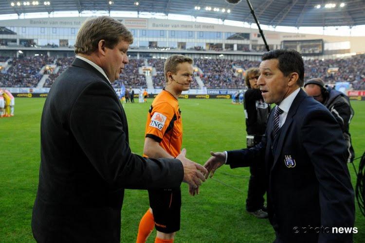 """Hein Vanhaezebrouck: """"Anderlecht est la meilleure équipe"""""""