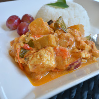 Thai Tofu Red Curry