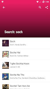 Lyricsmint: Hindi Songs Lyrics Screenshot