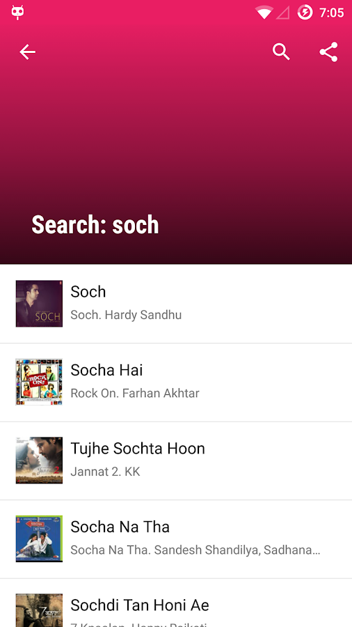 Lyricsmint: Hindi Songs Lyrics- screenshot
