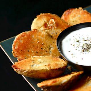 Parmesan Baked Potato Halves.