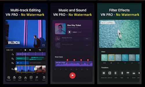 New VN PRO - Hint Video Editor No Watermark 2.0
