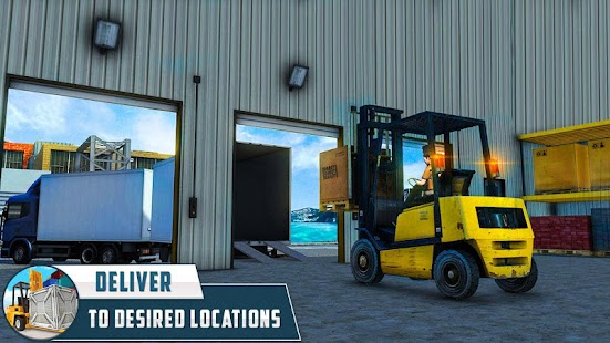 City Cargo Heavy Forklift Simulator 2017- screenshot thumbnail