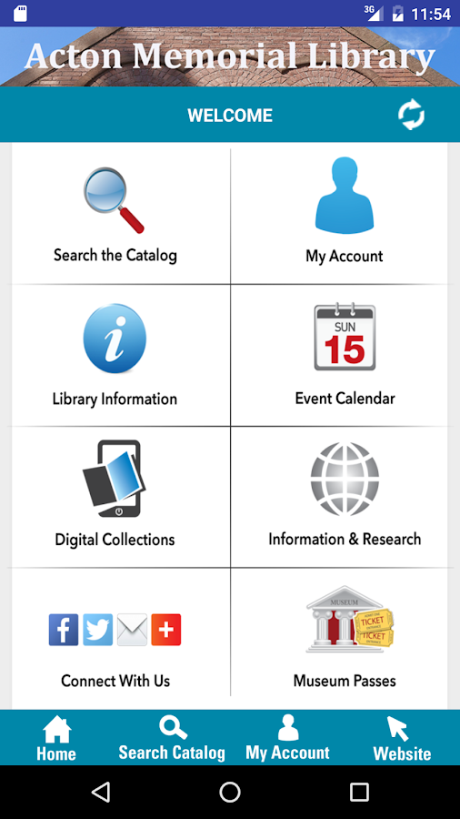 Minuteman Library Network- screenshot