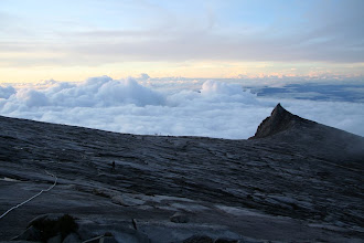 Photo: South Peak and the summit plateau of Mount Kinabalu at  3,933 Metres (12,904 ft) Above Sea Level.