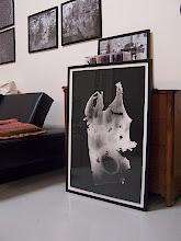 "Photo: ""Empreintes""11 900x600 contrecollage sur alu 01/01 © Olivier Perrot 1998"