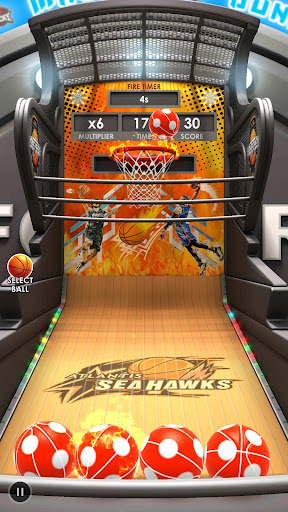 Basketball Flick 3D - screenshot