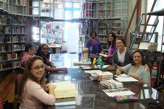 Photo: O grupo reunido para mais uma reunião