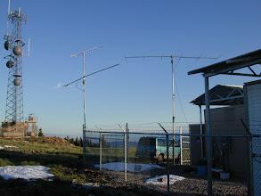 Photo: VHF contest 2007  w4ov  k0ip