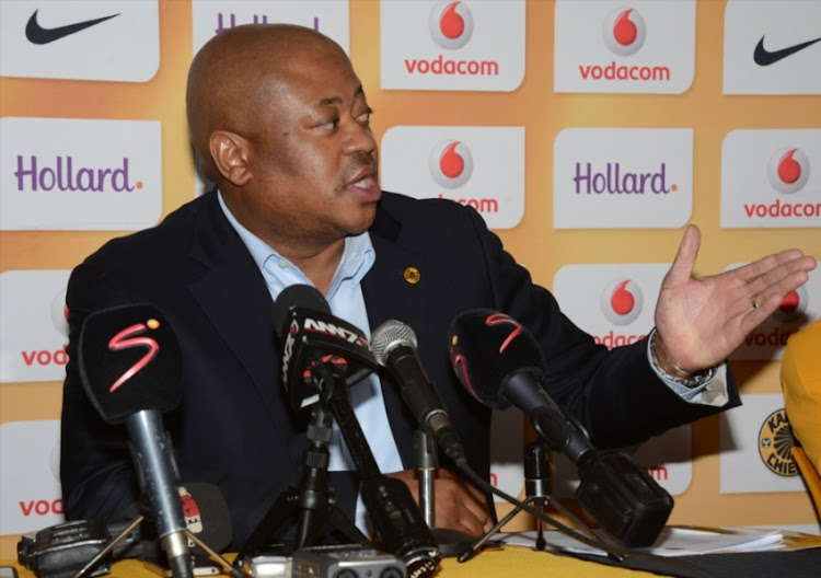 Bobby Motaung during the Kaizer Chiefs press conference at Kaizer Chiefs Village, Naturena on June 23, 2015 in Johannesburg.
