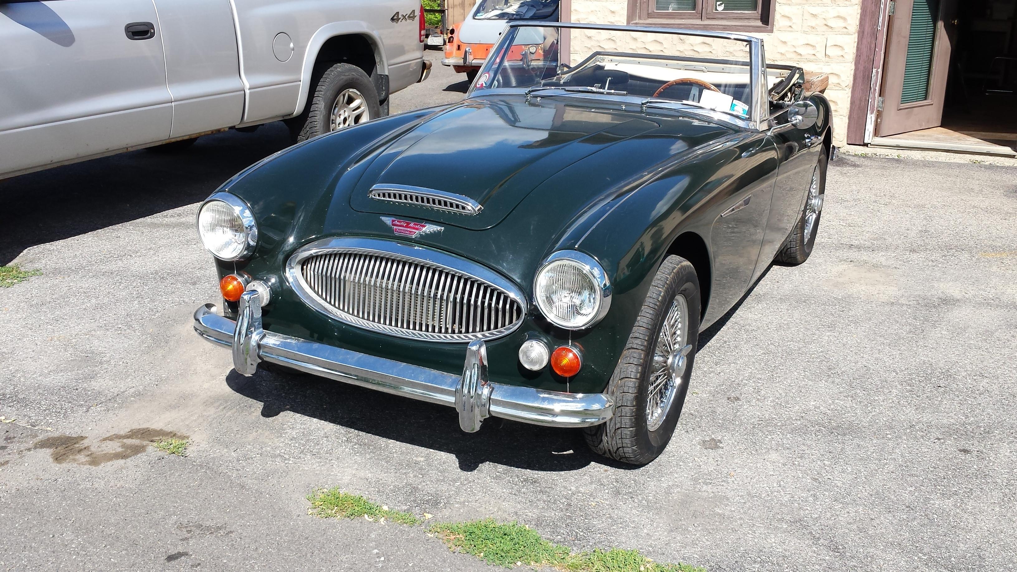 Austin-Healey MK 3000 Hire Irvington, Ny