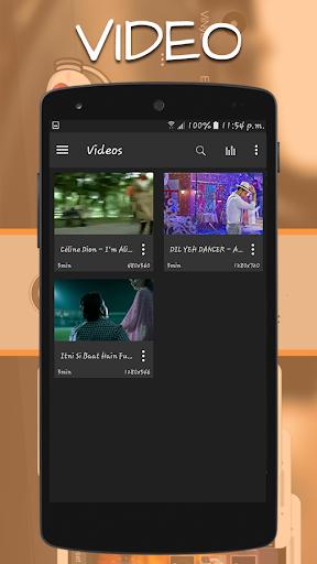 Music Mp3 Video Player 2017 1.0.4 screenshots 2