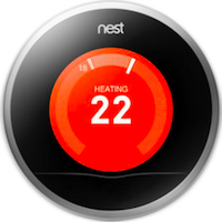nest thermostat 2nd gen front view