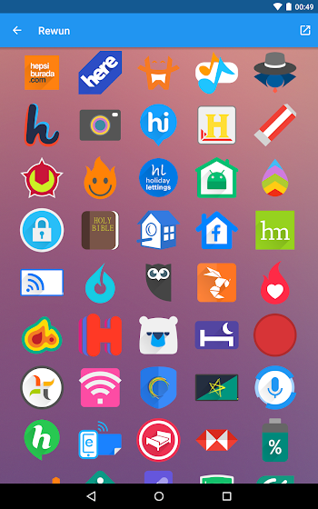 Rewun - Icon Pack - screenshot