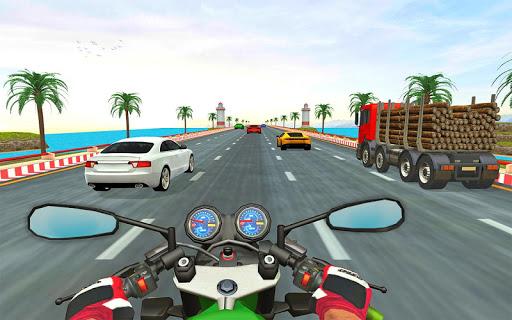 Bike rider highway racer - New bike racing Games  captures d'écran 1