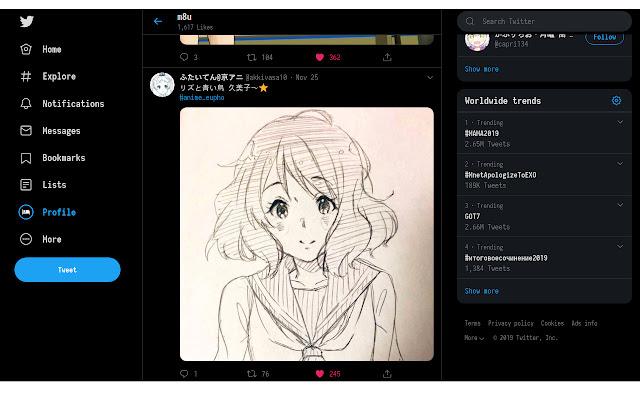 Twitter Large Thumbnails