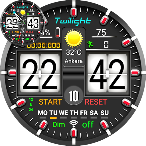 Twilight Watch Face For WatchMaker Users