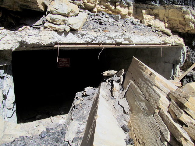 Breakout from the Geneva/Horse Canyon mine