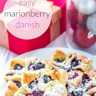 Easy Marionberry Danish.