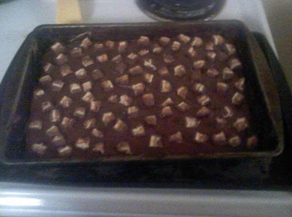 Snicker Candy Bar Cake Recipe
