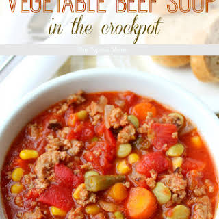 Ground Beef Soup Crock Pot Recipes.