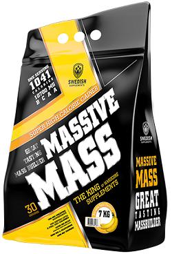 Swedish Supplements Massive Mass 3,5kg - Banana Split