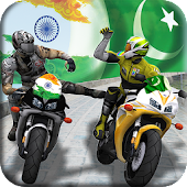 Pakistan Vs India - Bike Attack Race
