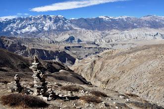 Photo: Sur le plateau entre le Makar La et Kog