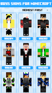 Boys Skins For Minecraft PE For PC Windows MAC Techwikiescom - Skins para minecraft pe boy
