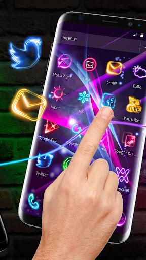 Neon Light Launcher 5.64.10 screenshots 2